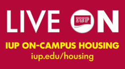 LIVE ON - IUP ON CAMPUS HOUSING