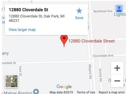 Kerr Pump MI location map
