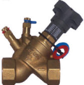 globe style balancing valve