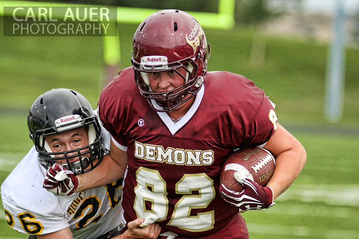 2012 HS Football: Golden vs Thompson Valley