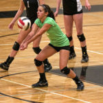 Pomona Host Mountain Range For Volleyball Action