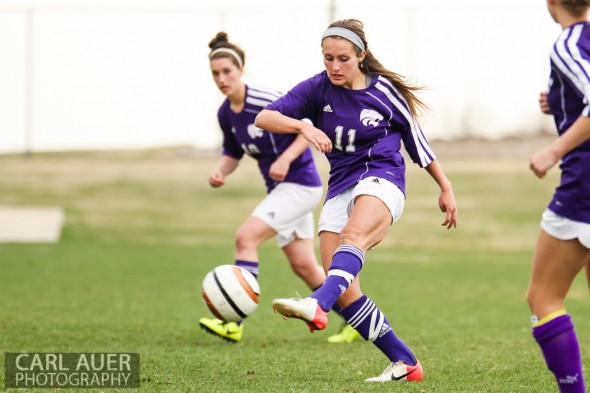 April 8th, 2013: The Ralston Valley Mustangs girls soccer team won Monday's home conference game against Arvada West by a score of 2-0.