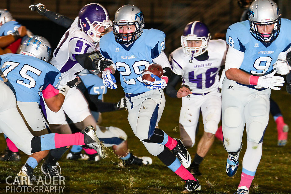 10 Shot - HS Football - Arvada West at Ralston Valley
