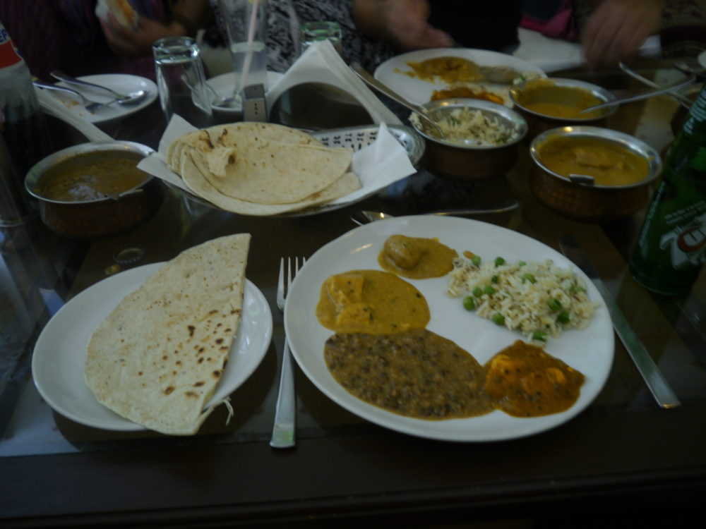 Restaurants in india, food in india, eating in india