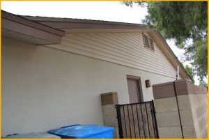 Soffit and Fascia Siding Residential Home