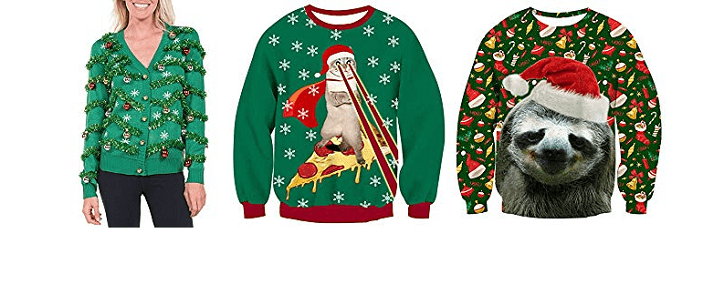 8 Unique Ugly Christmas Sweater Ideas for 2019