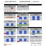 2019-2020 Updated West Tech Calendar