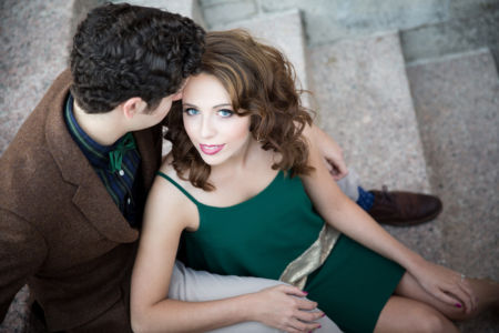 Engagement photography styling by MUAH & Co.