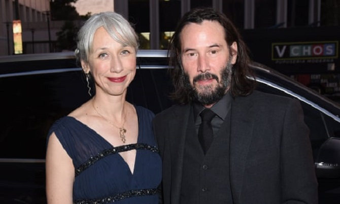 Keanu Reeves Goes Public For The First Time Ever With His Girlfriend