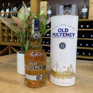 Old Pulteney 12Yo  Single Malt Scotch Whisky – RM07