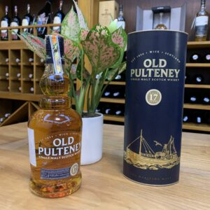 Old Pulteney 17Yo  Single Malt Scotch Whisky – RM08