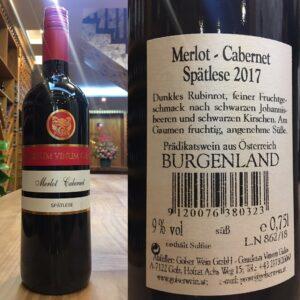 Rượu Vang Ngọt đỏ( melot cabernet) – AW02