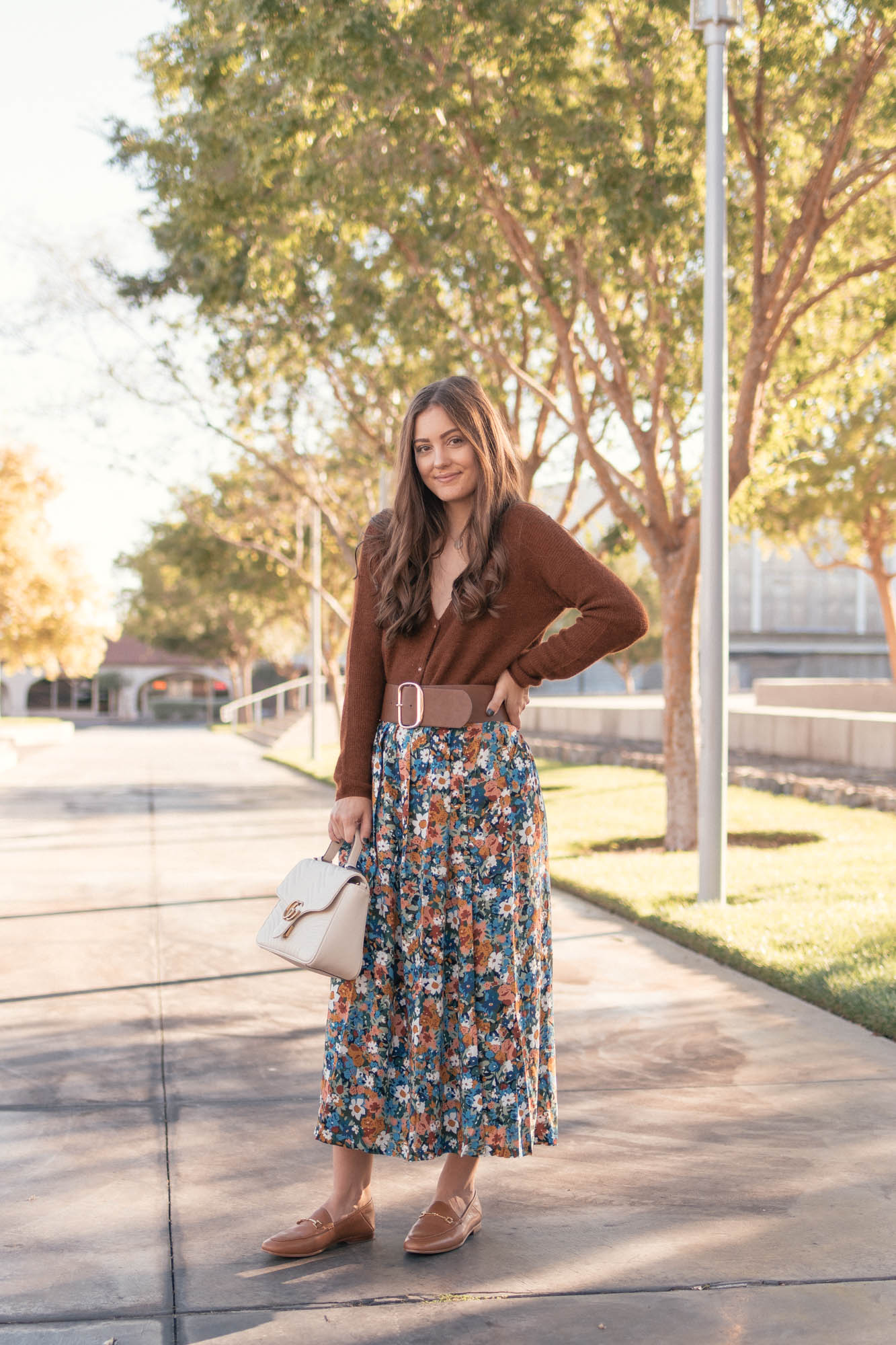 Floral in the Fall - www.HaleighHall.com