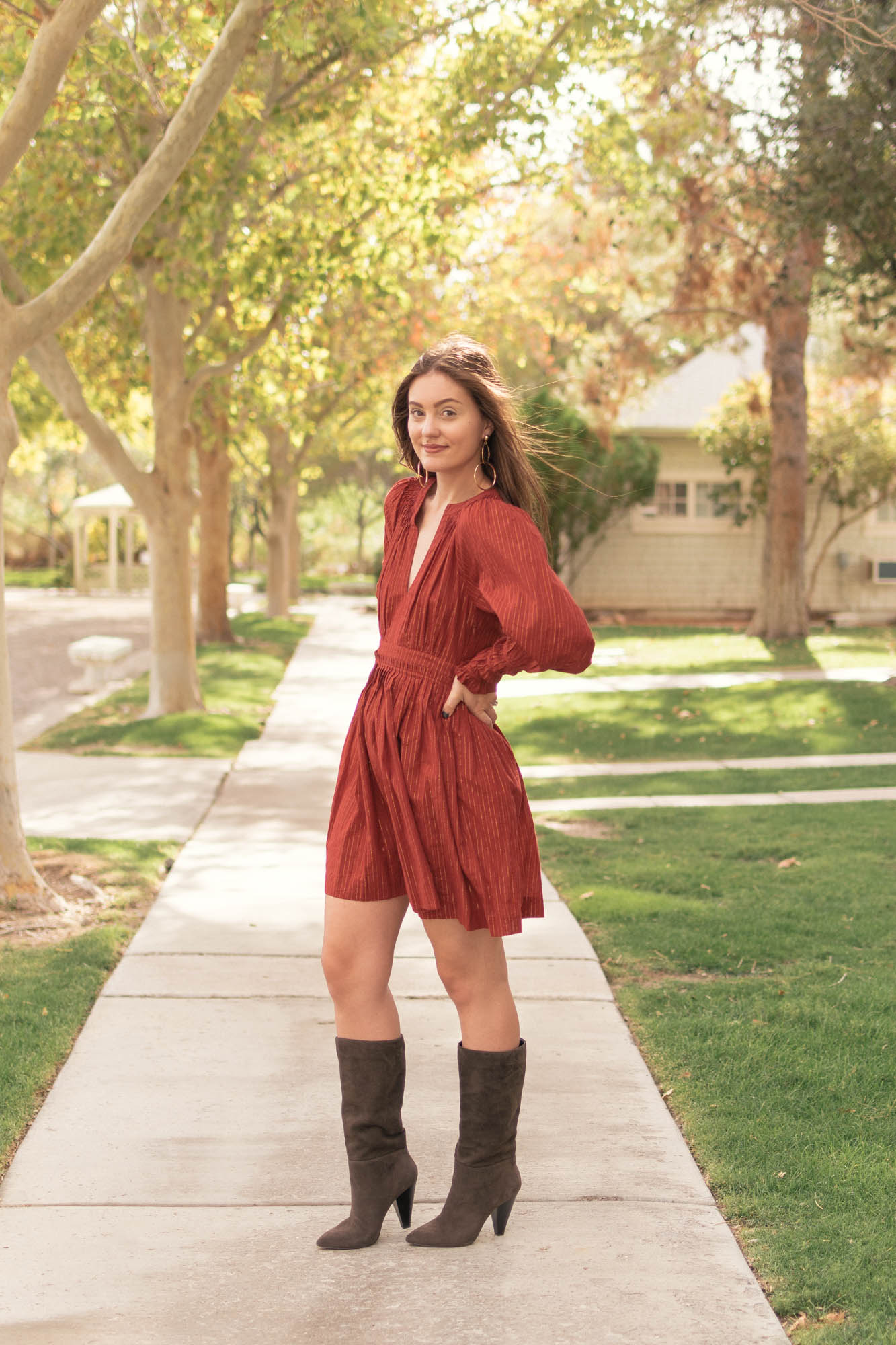 3 Boots to Pair with Dresses this Fall - www.HaleighHall.com