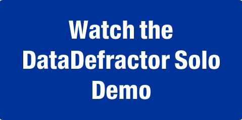 Watch DataDefractor Solo Demo