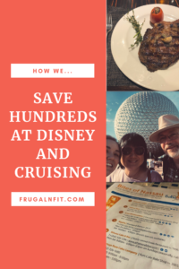 Saving Money at WDW