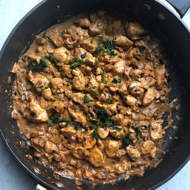 20 Minute Weeknight Chicken Curry