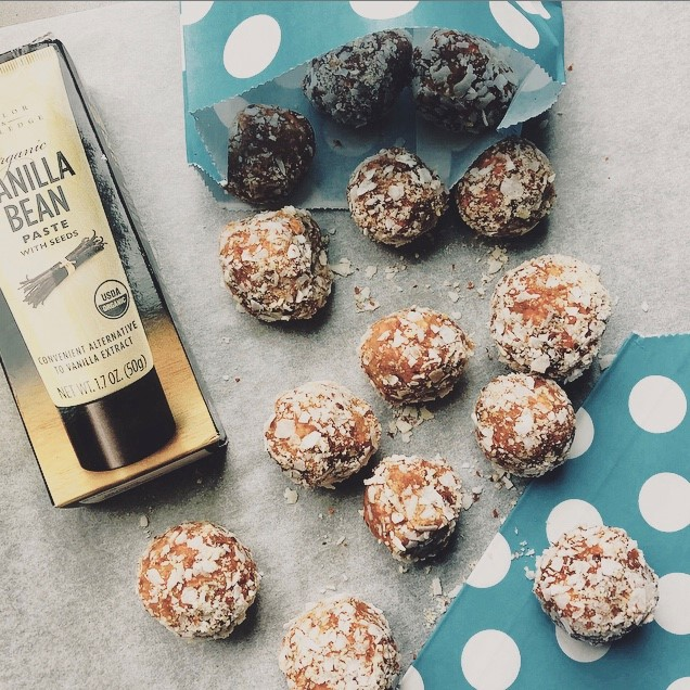 Grain Free Carrot Cake Energy Balls