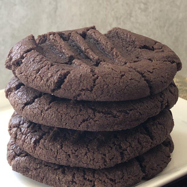 Basic Gluten Free Chocolate Cookies- #choctoberfest
