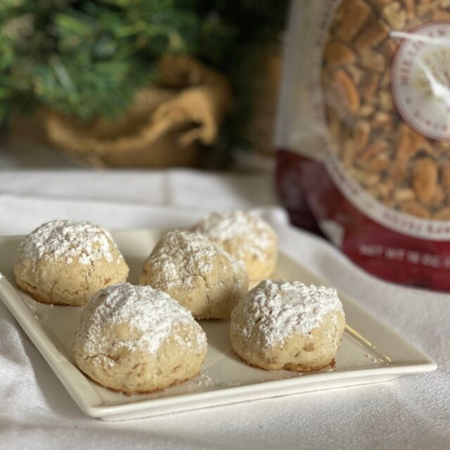 Gluten Free Russian Teacakes- #ChristmasCookies