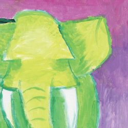 Fauvism - Elephant