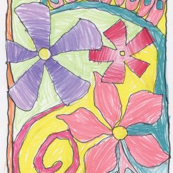 Drawing - Flower Mosaic