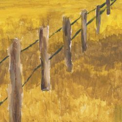 Impressionism - Wooden Fence