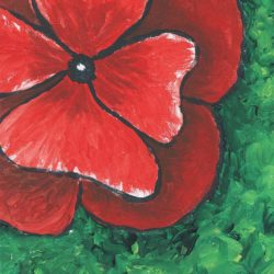 Impressionism - Remembrance Day Poppy