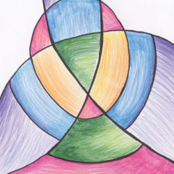 Drawing - Colourful Design