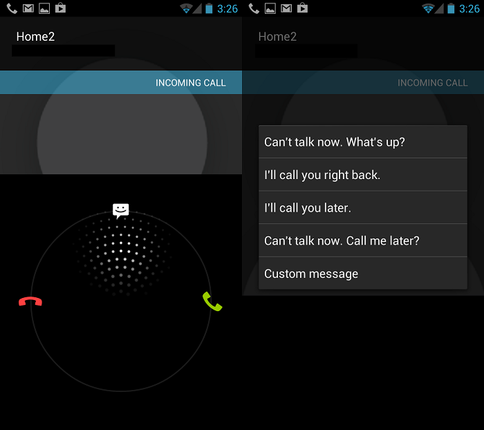 Android 4.0+ Tip: Send a Quick Text Response to a Caller Before Sending Them to Voicemail