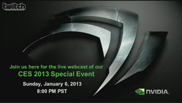 NVIDIA Live Webcast CES 2012 [Update: Finished]