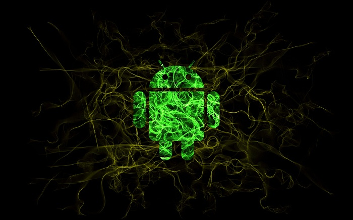 #Android's Daily Wallpaper: Look Ma, I'm Glowing
