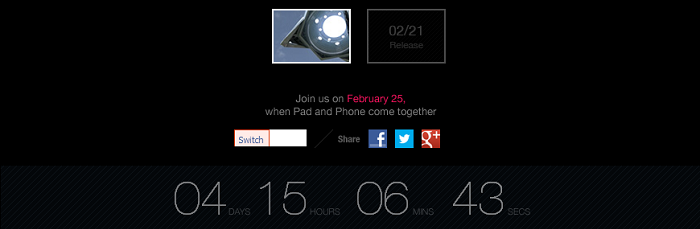 ASUS to Reveal new Padfone at Mobile World Congress?