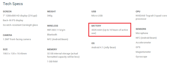 Did the Android 4.2.2 Update Improve the Battery Life of the Nexus 7 by 2 Hours?