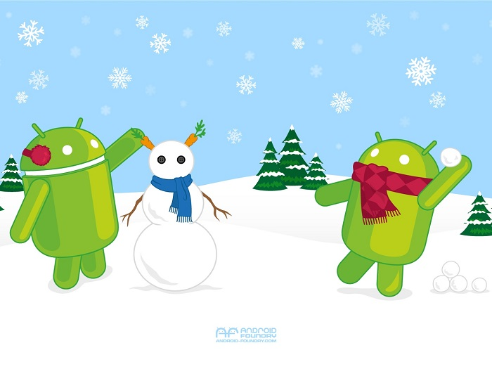 #Android's Daily Wallpaper: AF Winter Wonderland