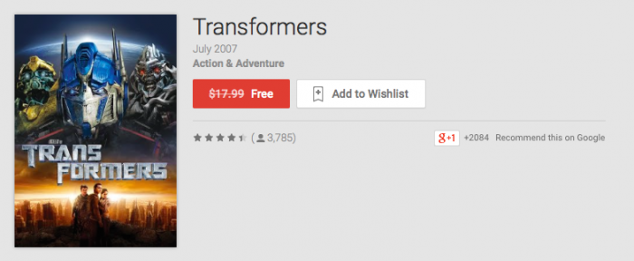 Deal: Grab 'Transformers' and 'Ghost Stories' Free Today