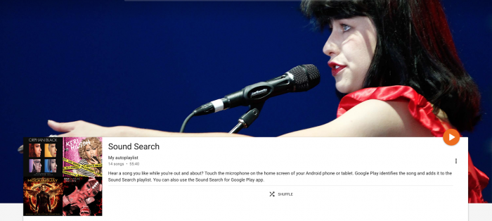 Find the Songs You've Searched for When Using Google's Sound Search