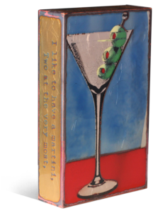 """151 'Shaken' - """"I like to have a martini, two at the very most. Three I'm under the table, four I'm under the host."""" - Dorothy Parker"""