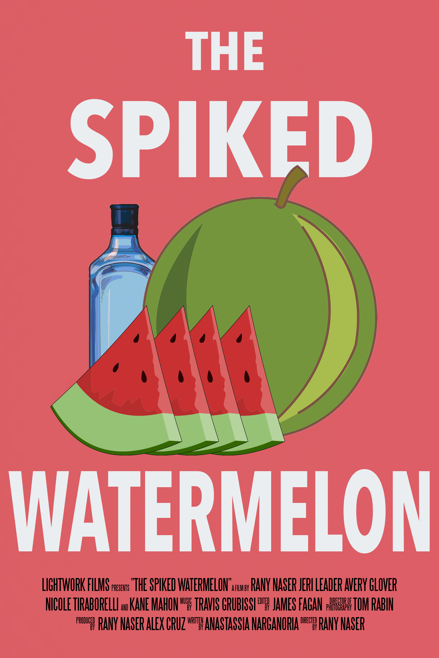 The Spiked Watermelon Poster