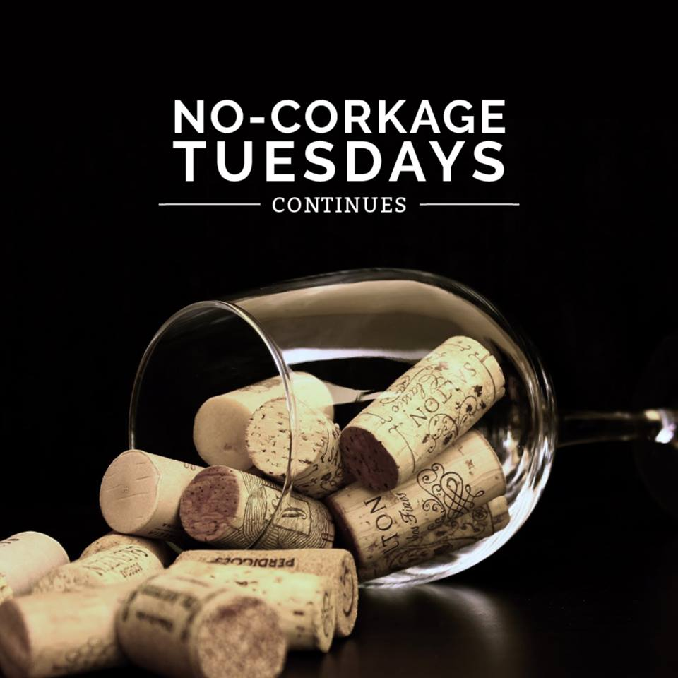 no corkage tuesdays continues