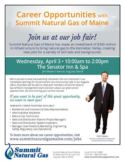 Job Fair Flyer - Small