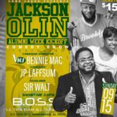 Jackson Olin Alumni Kick Off Week