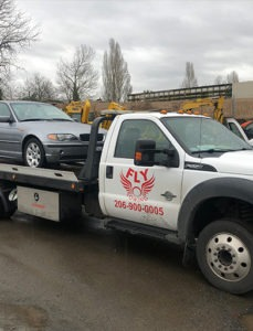 flatbed towing