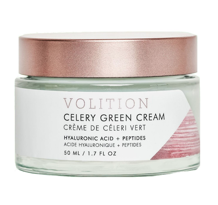 Celery Green Cream with Hyaluronic Acid by Volition Beauty, $74.00