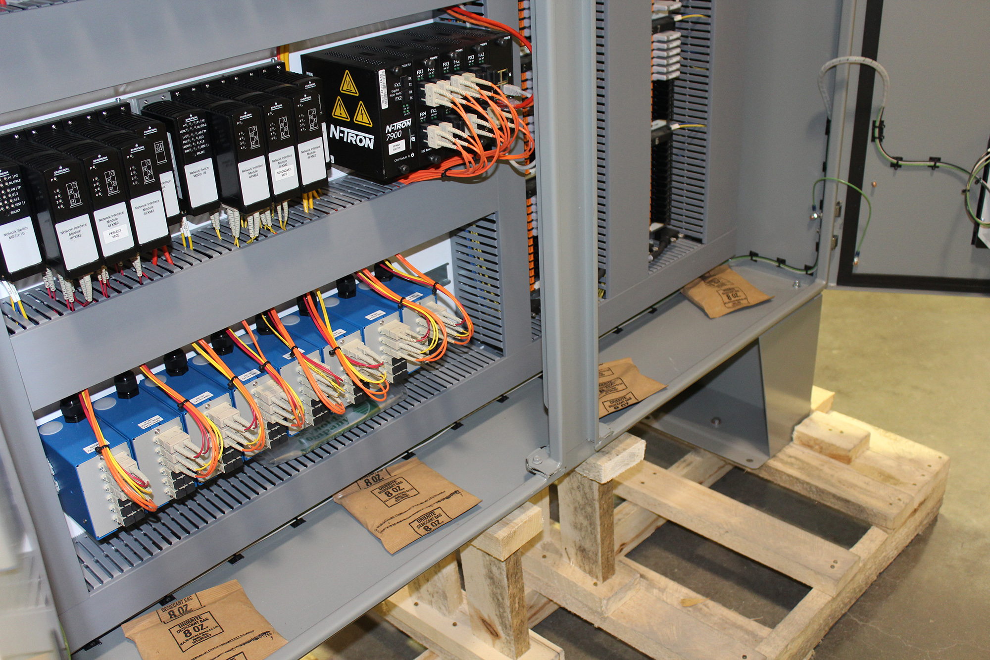DELTAV DISTRIBUTED CONTROL SYSTEM (DCS) FOR A FRACTIONATOR FACILITY