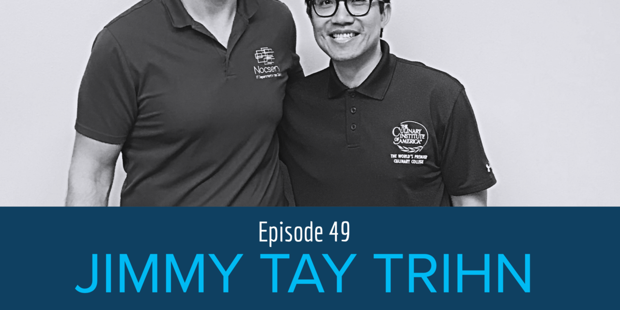 Changing Food Culture with Naughty Noah's Vietnamese Pho Noodles Founder Jimmy Tay Trinh
