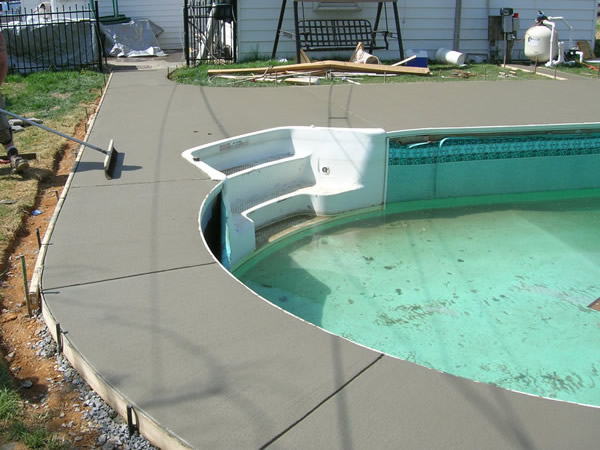 Building and Concrete | Above Water Pools, LLC