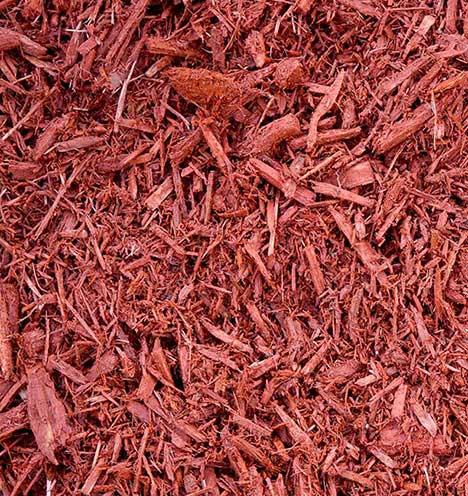 Red mulch