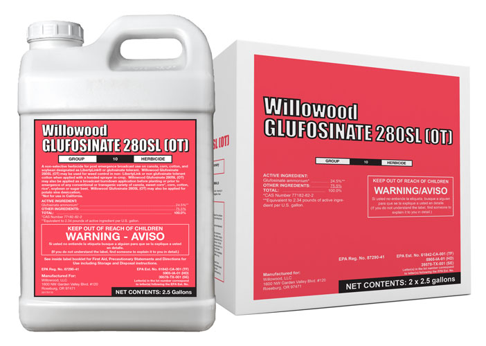 GLUFOSINATE 280SL (OT) Box and Jug