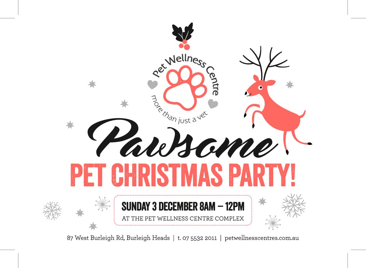 We're having a Pawsome Pet Christmas Party!!